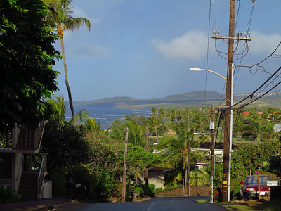 top of the hill in Poipu
