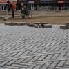 New pavement in Woenselsemarkt.