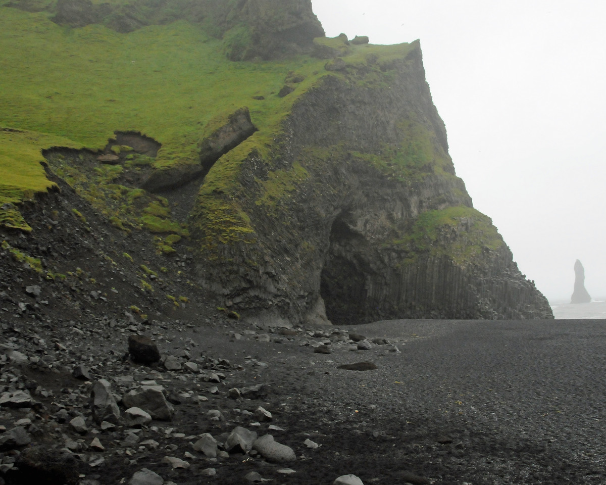 Reynisdrangar cliffs on the south coast
