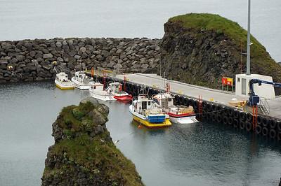 Arnarstapi fishing village southeast corner of Snaefellsjokull