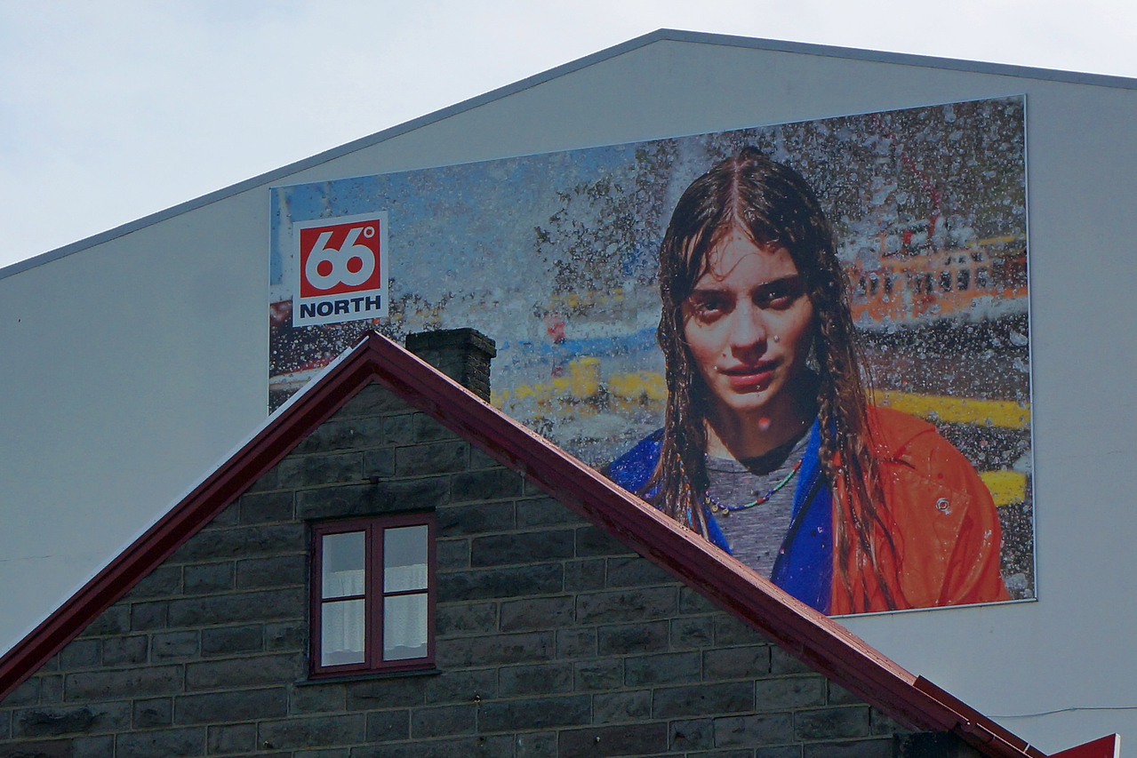 66 Degrees North store in Iceland specializes in outdoor clothing.