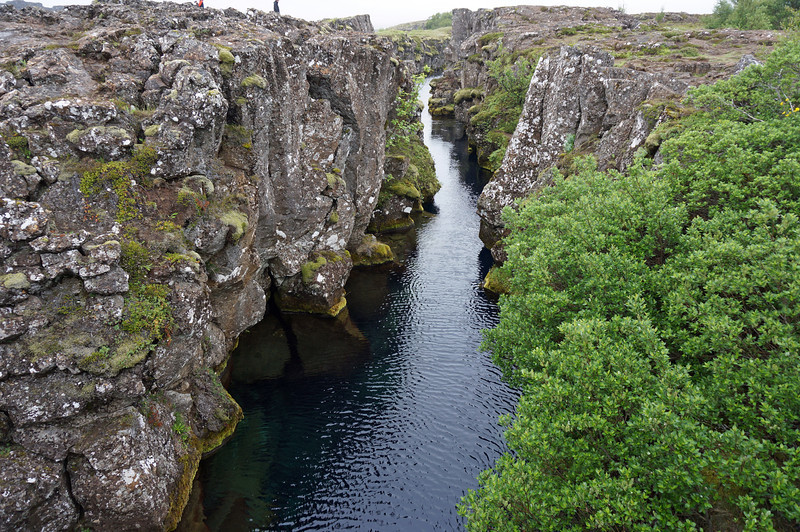 Thingvellir National Park.  Site where European and North American tectonic plates meet.