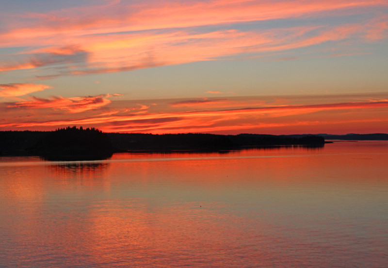 LUBEC, ME   SUNSET