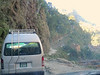 The road from the Tibet border to Kathmandu is extremely rough, under frequent reconstruction, & scary in places