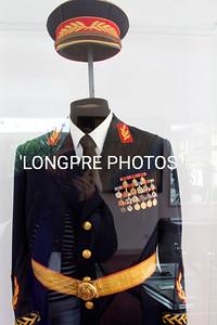 TITO'S uniform.