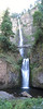 Stitched photo of Multnomah Falls