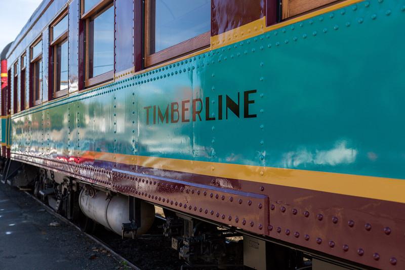 Timberline Train Car