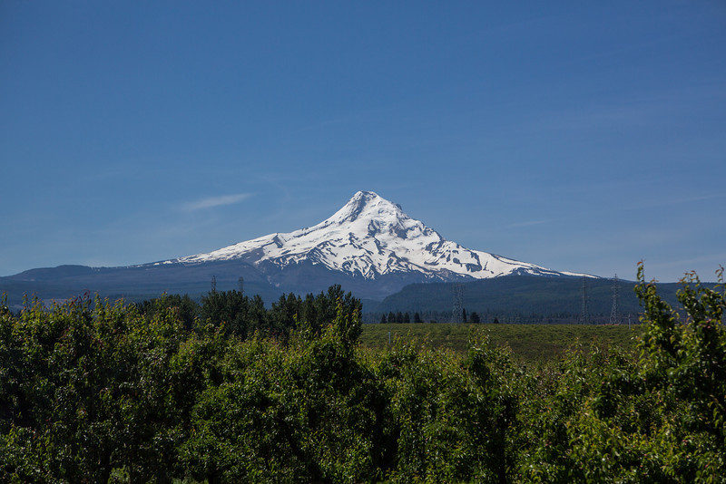 Mount Hood as Seen from the Railroad