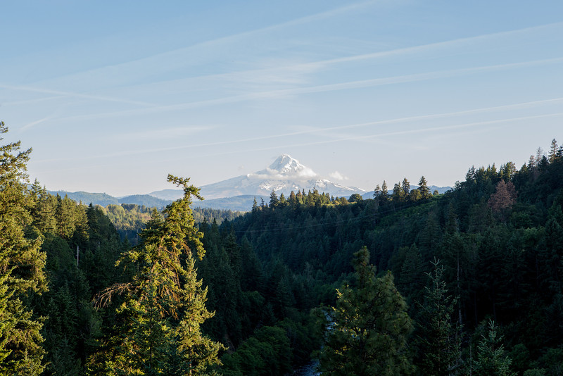 Mount Hood from Highway 35