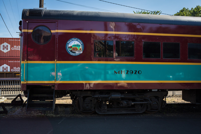 Mount Hood Railroad Car