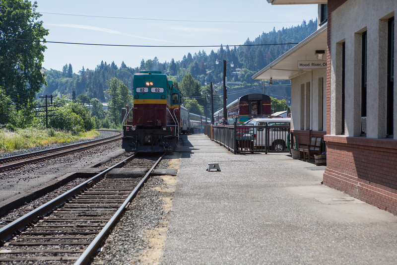 Hood River Train Station