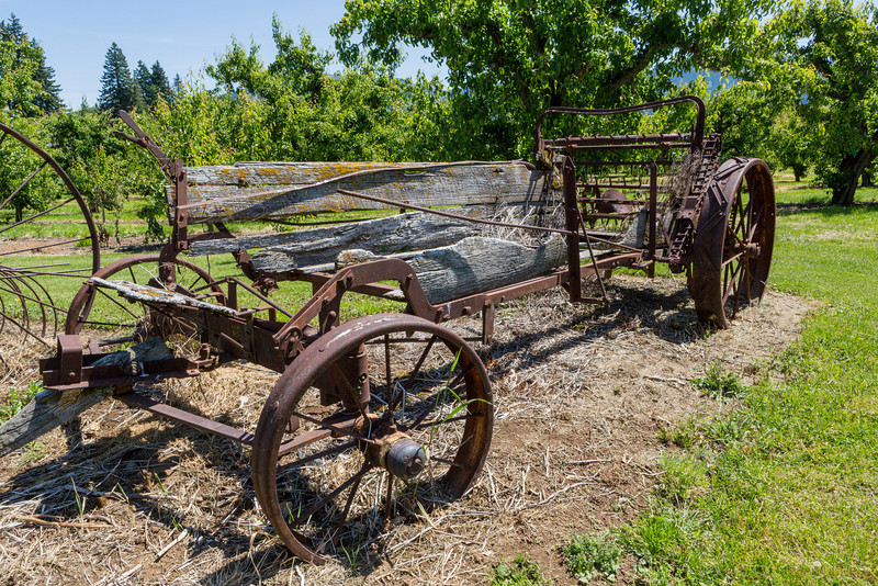 Old Farm Machine in Parkdale