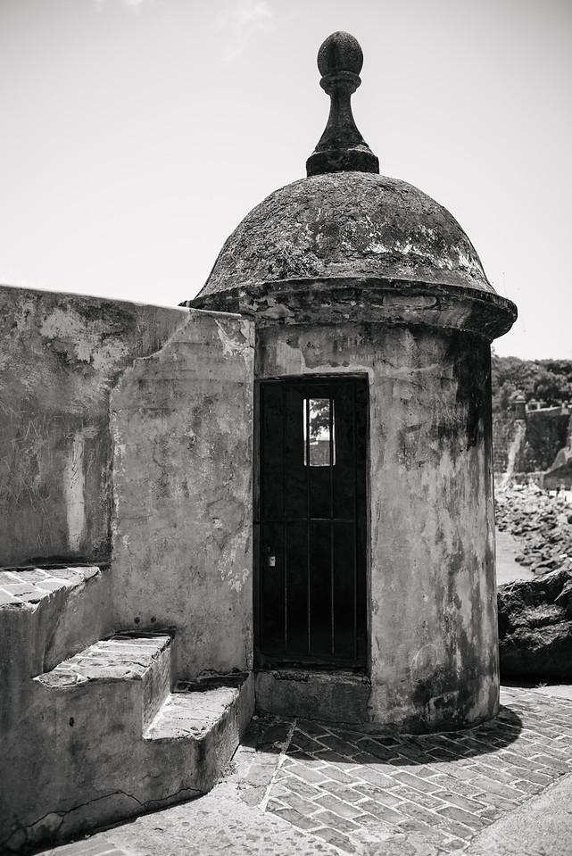 Watchtower near El Morro, Puerto Rico