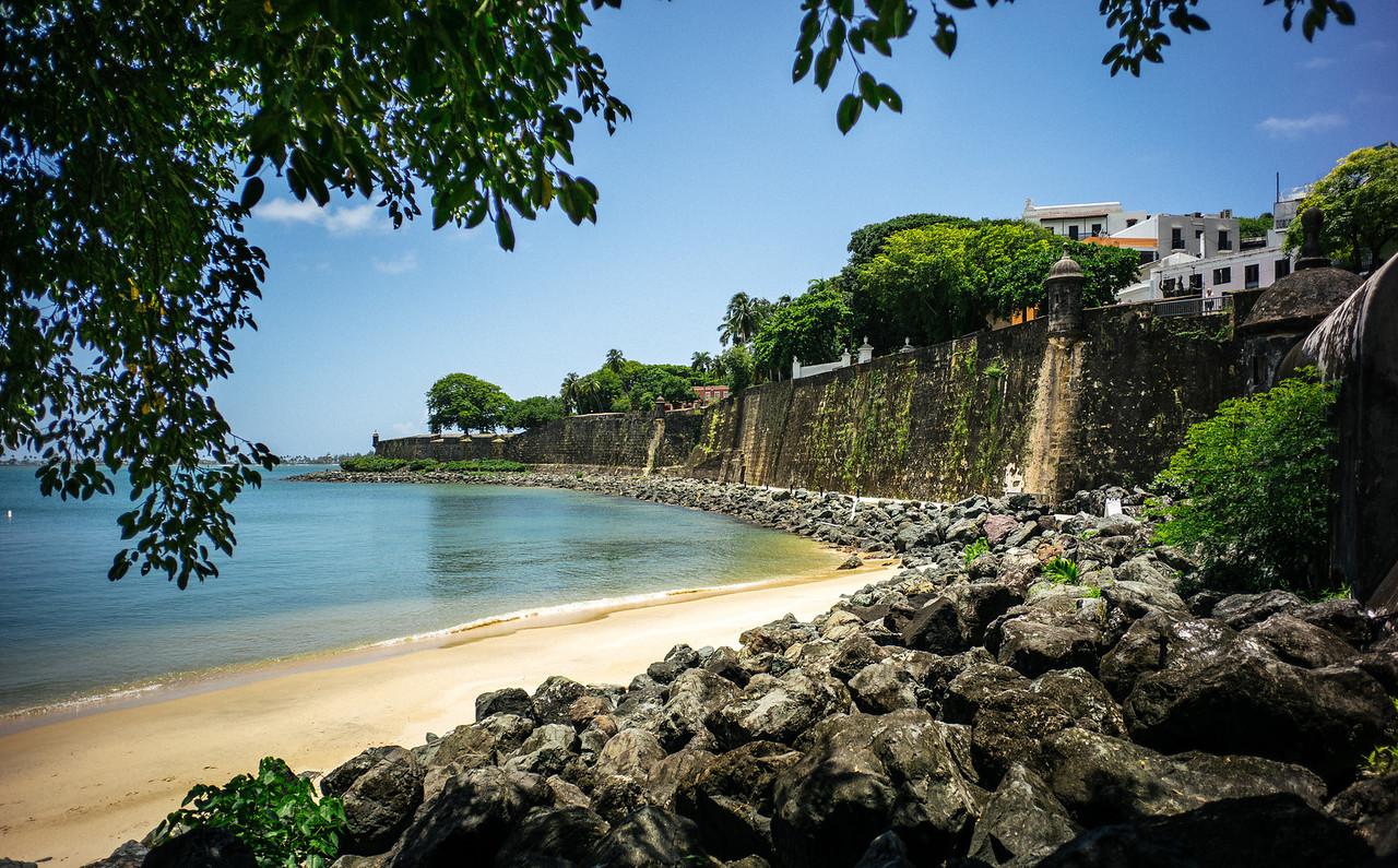 Bay near El Morro, Puerto Rico