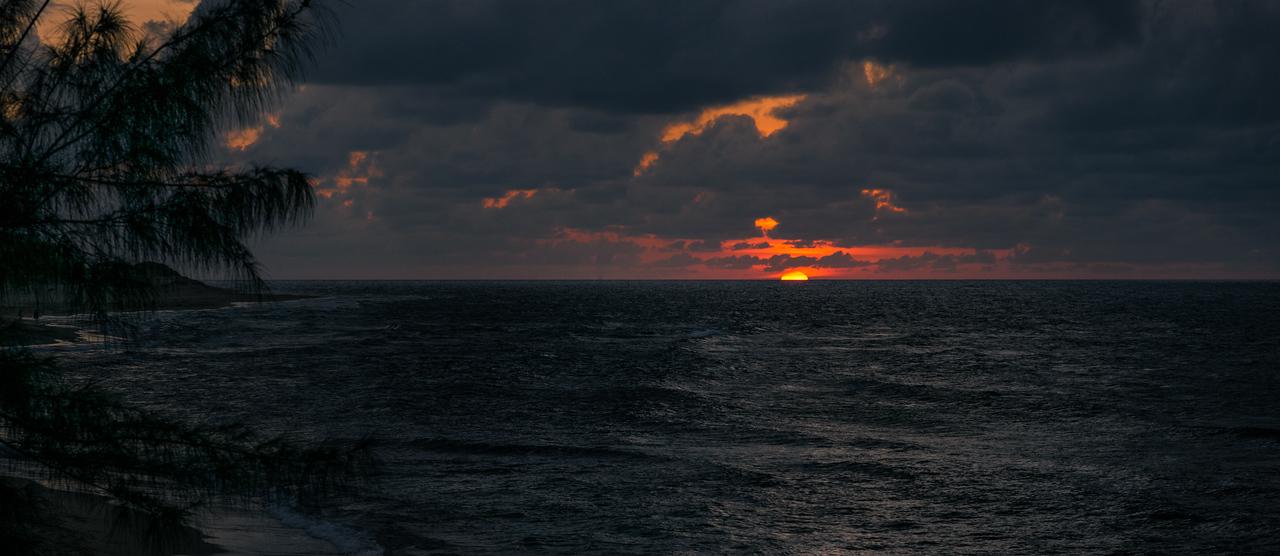 Carribean sunset...<br /> Puerto Rico
