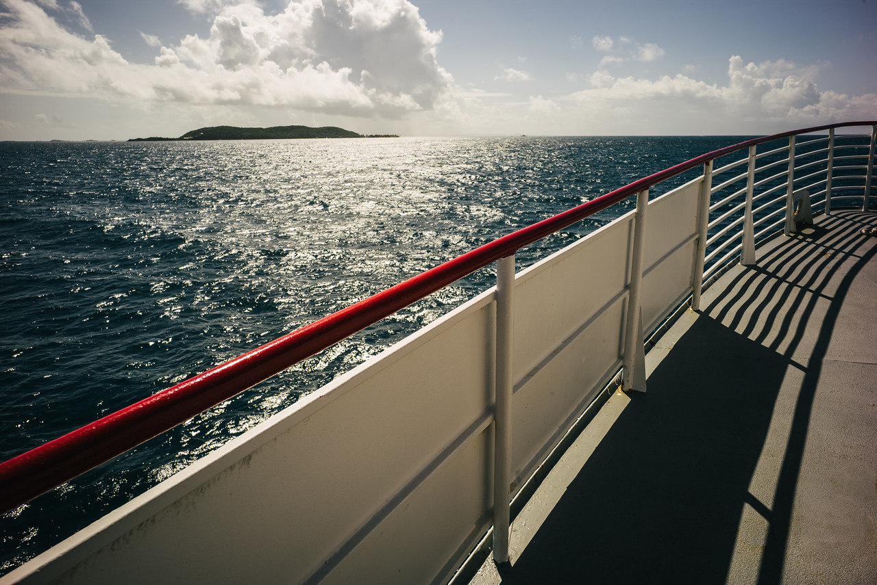 The journey to Culebra, Puerto Rico