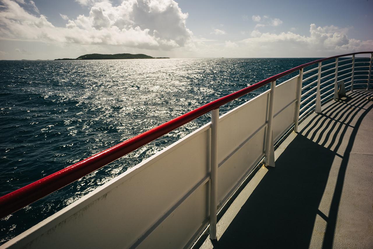 The journey to Culebra, Puerto Rico