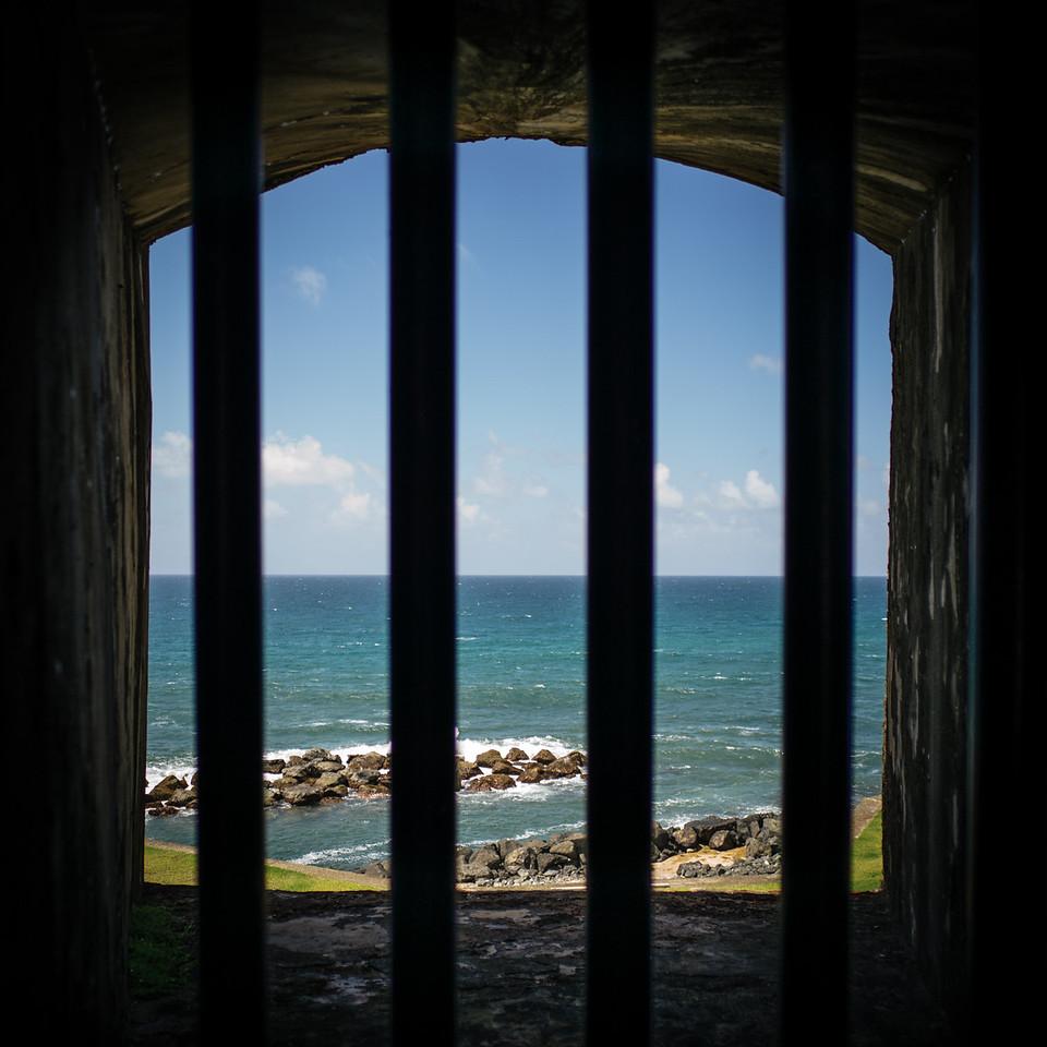 Soldier's quarters.<br /> El Morro, Puerto Rico.