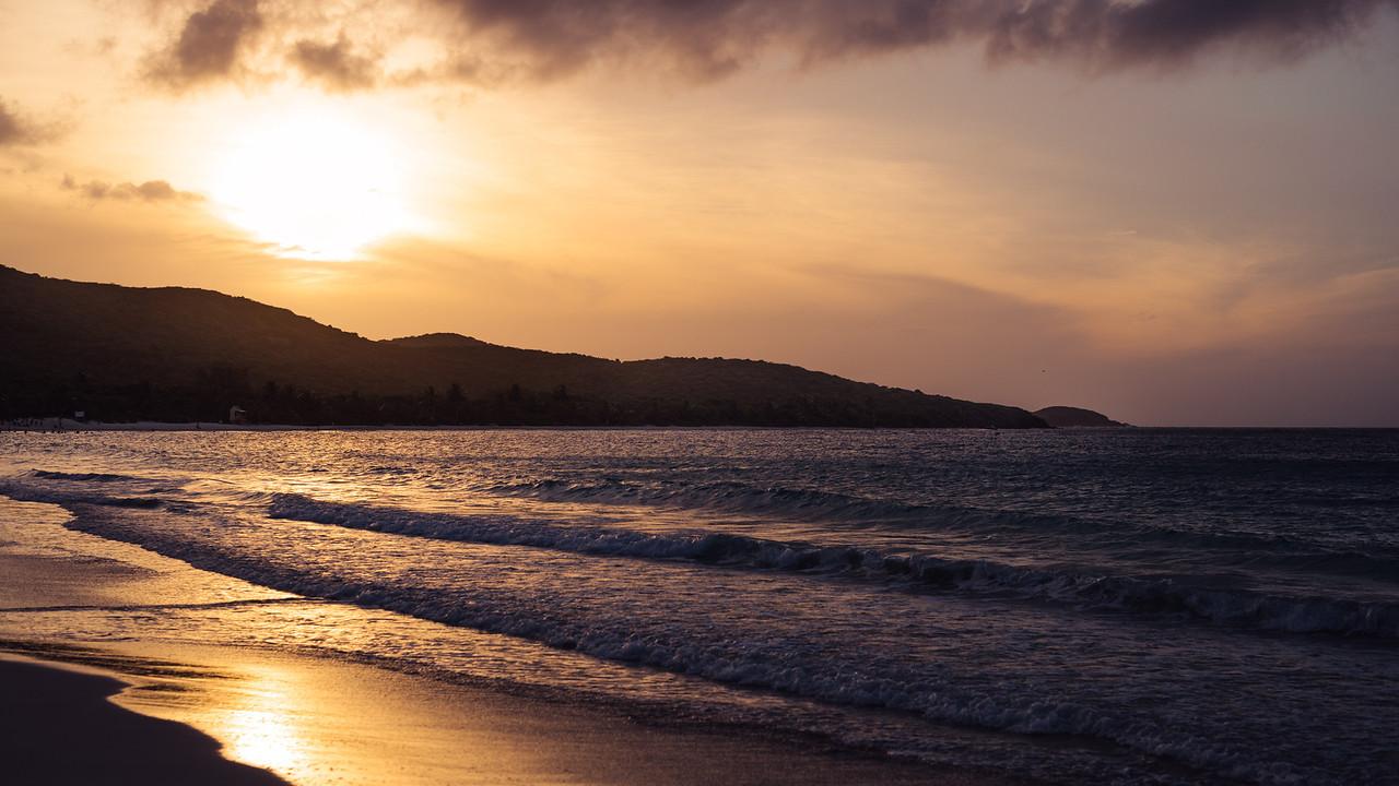 Sunset on Culebra, Puerto Rico