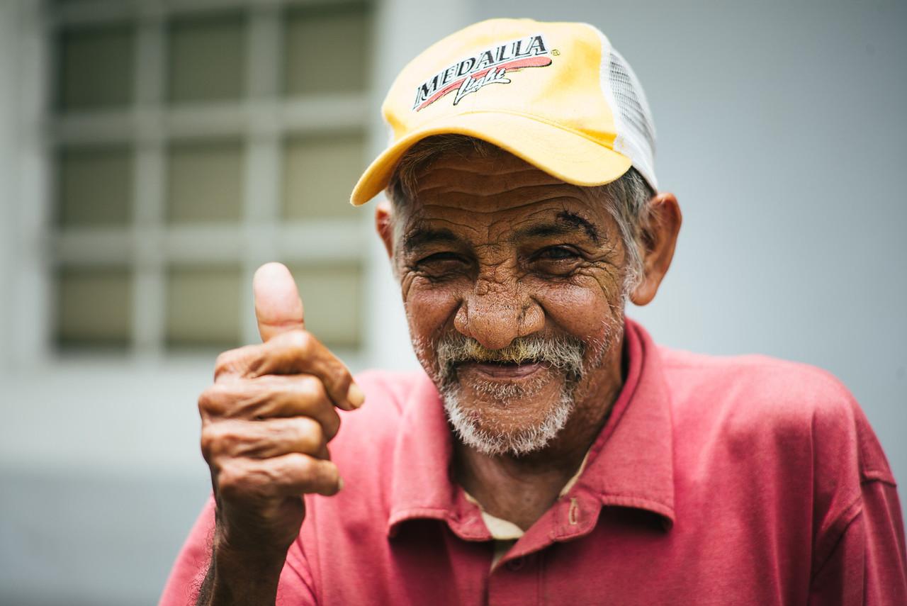 Medalla man...Culebra, Puerto Rico