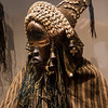 Ceremonial figure from the African gallery at the Virginia Museum of Fine Arts.