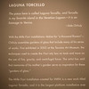 Interpretative description of the largest installation at the exhibit, Laguna Torcelo.