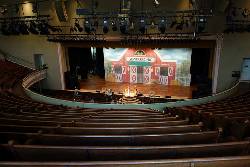We enjoyed our tour of the Ryman Auditorium - the location of the Grand Ole Opry for 40 years.