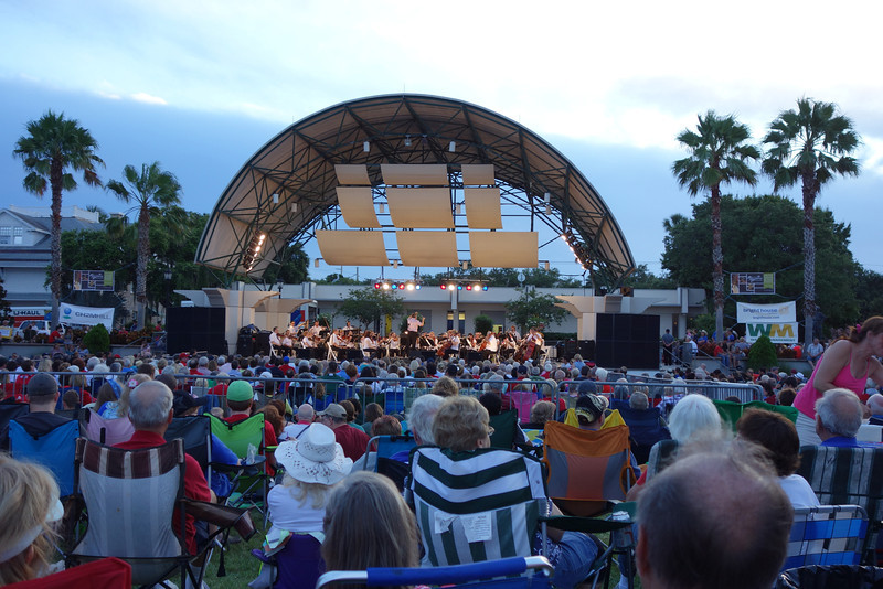 We celebrated the fourth at the community program in Cocoa, FL.  Their local symphony performed...