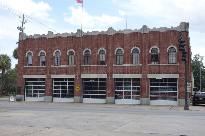 This is a firehouse now, but it used to be the first manufacturing plant for the Ford Model T.  Made me think of our Fremont plant for the Model S.
