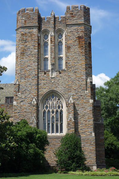 The gothic style of Duke's west campus.