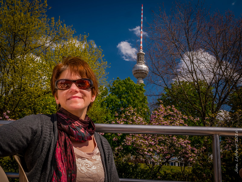 Berlin TV Tower and TV Fan!