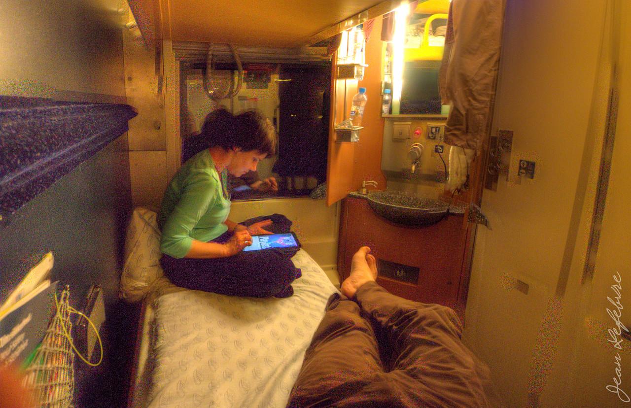 Night Train Sleeper cabin