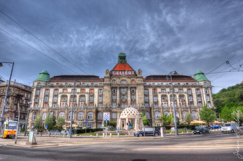 Gellert Hotel in Budapest