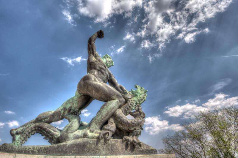 Liberty Monument's Dragon Slayer