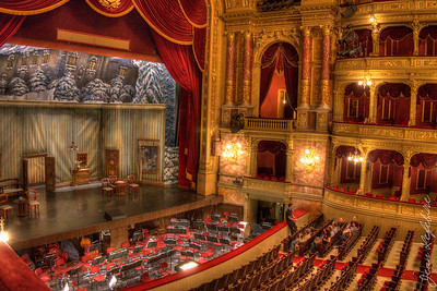 Budapest Opera Hall Stage
