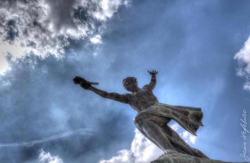 Liberty Monument's Wingman