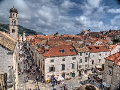 Stradun (Main Street) Old Town Dubrovnik