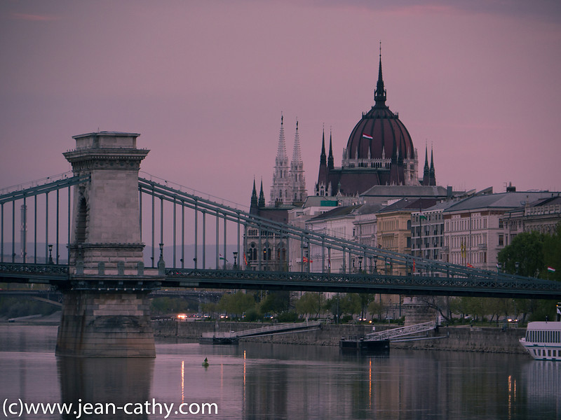 Bridge and Parliament, Budapest