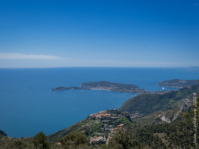 a view of Eze, Medieval Village