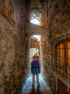 Back Alleys of Roquebrune, France