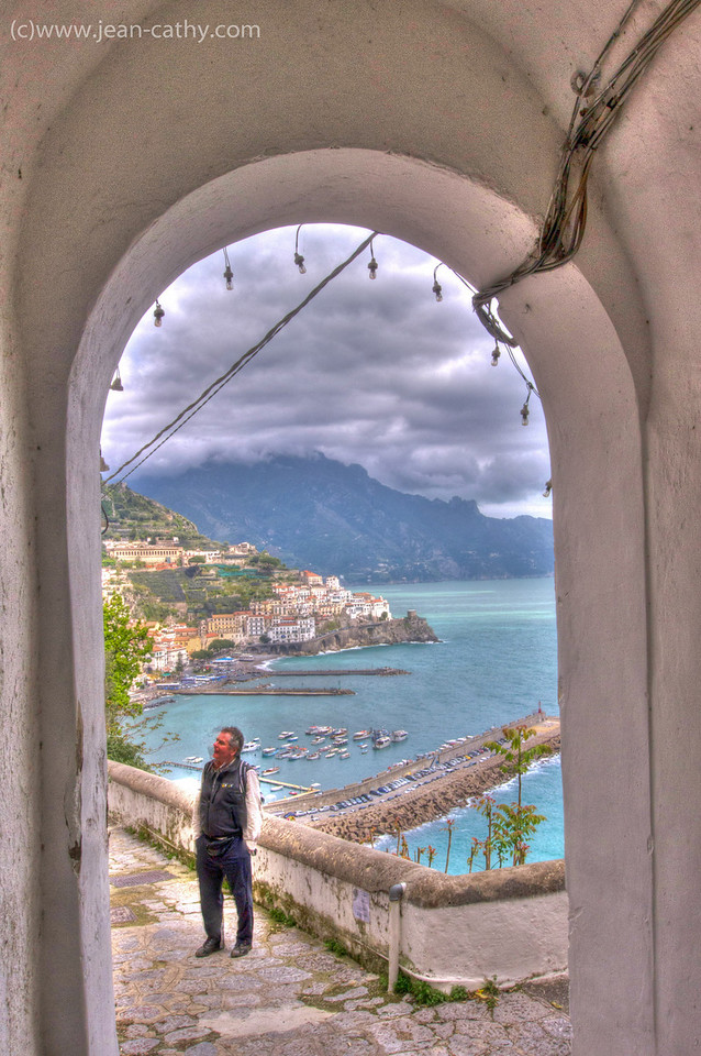 Our walk from Agerola to Amalfi was very picturesque ... hence the pictures!