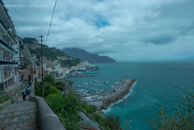Our first day of Hiking ... somewhat cloudy but we did get some nice views. The hike started in Agerola and ended in Amalfi (2700 stairs down ... ouch!)