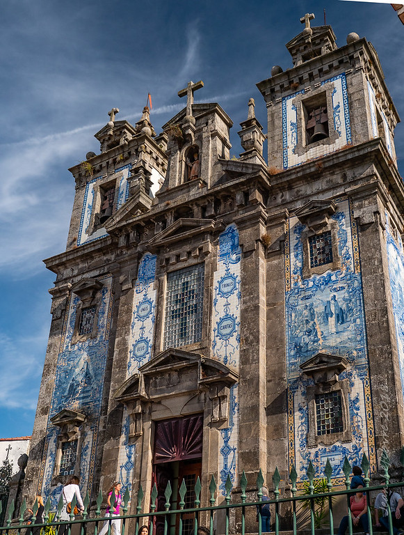 Porto's tiled Church