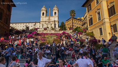 Spanish Steps of Rome.