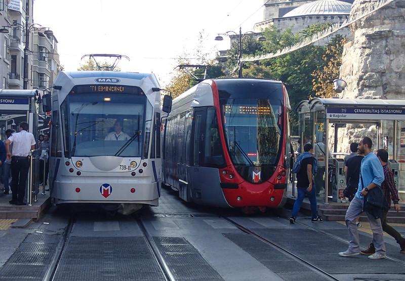 Istanhul tram