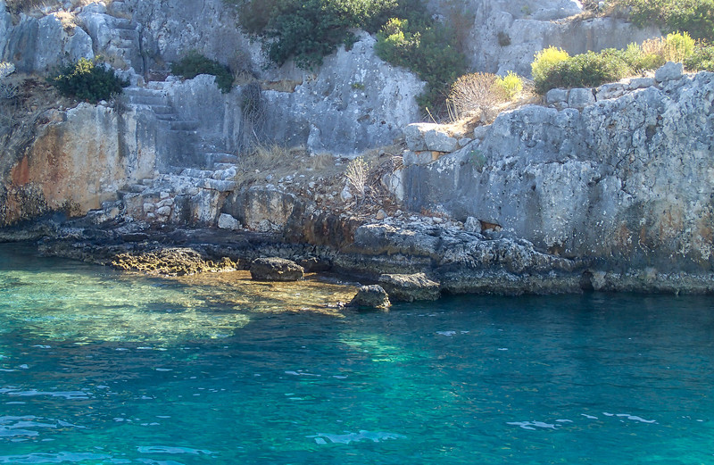 Kekova, the sunken city