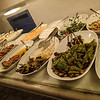 Huge variety of meze at Bahce