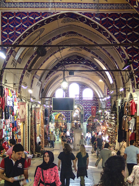 The Grand Bazaar, is really grand - is one of the largest and oldest covered markets in the world, with 61 covered streets and over 3,000 shops