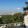 Istanbul view from Topkapi
