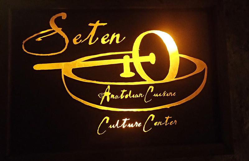 Great dinner at Seten in Goreme